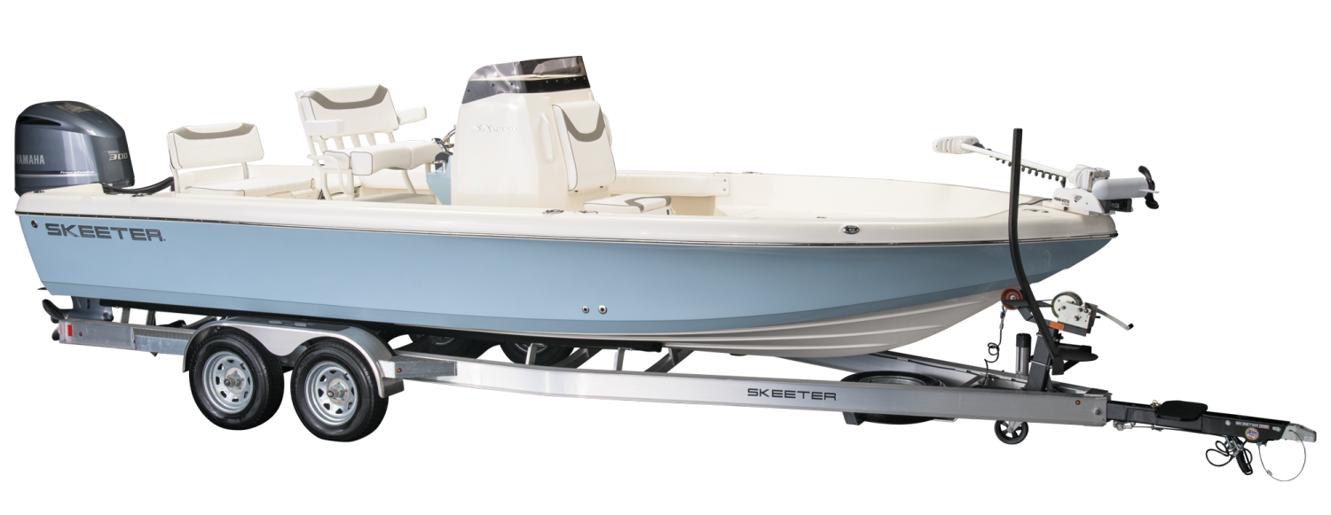 2021 Skeeter SX2550 FISH Bay Boat For Sale profile image.