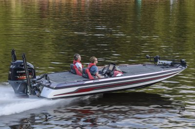 FX20 Running across the lake