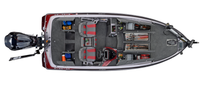 ZX250 has lots of storage space for tackle and rods
