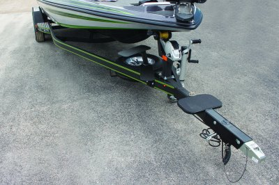 ZX250 skeeter built trailer with tongue step