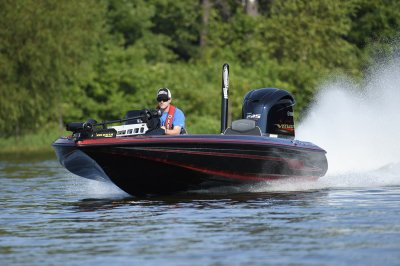zx250 rides smooth across rough water