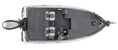 large deck space on this bass boat