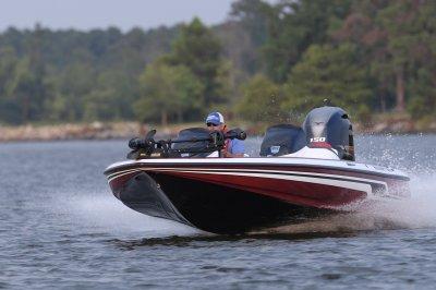 yamaha 150 vmax sho 4 stroke pushes boat