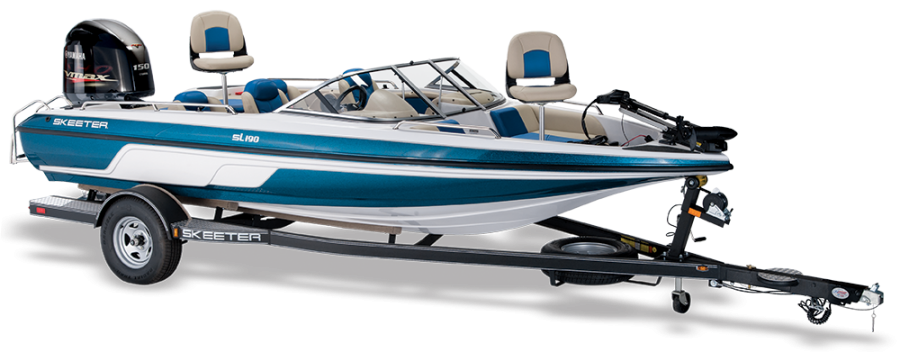 2018 Skeeter SL190 Fish & Ski Boat For Sale profile image.