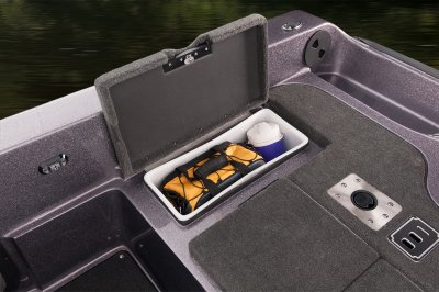 rear deck storage compartments