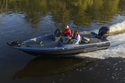 smooth riding mx2040 runs across big water