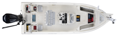 sx 230 center console bay boat with lots of strorage