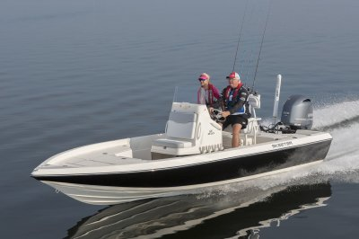 the best bay boat you can buy runs across saltwater