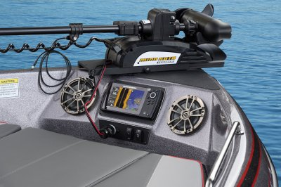 minn kota trolling motor comes standard on boat