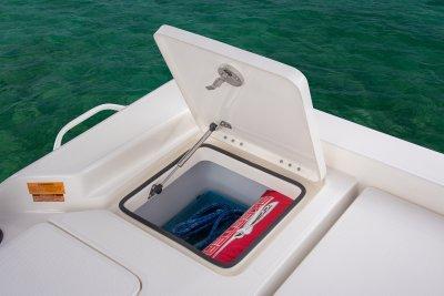 rear deck storage on sx240 bay boat