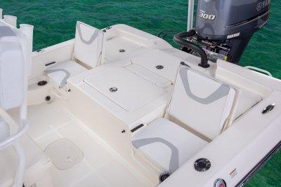 rear deck jump seats on skeeter sx240 bay boat