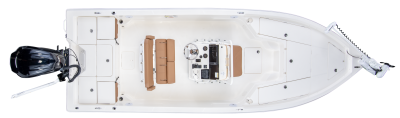 overhead of sx230 bay boat
