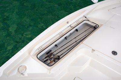 skeeter sx230 bay boat rod locker