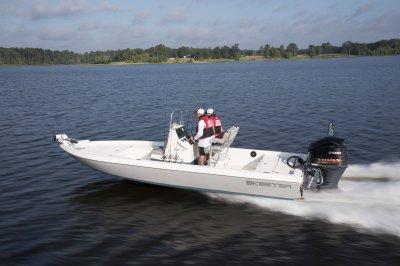 Sx230 bay boating running across bay