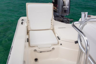 rear jumpseat on skeeter sx200 bay boat