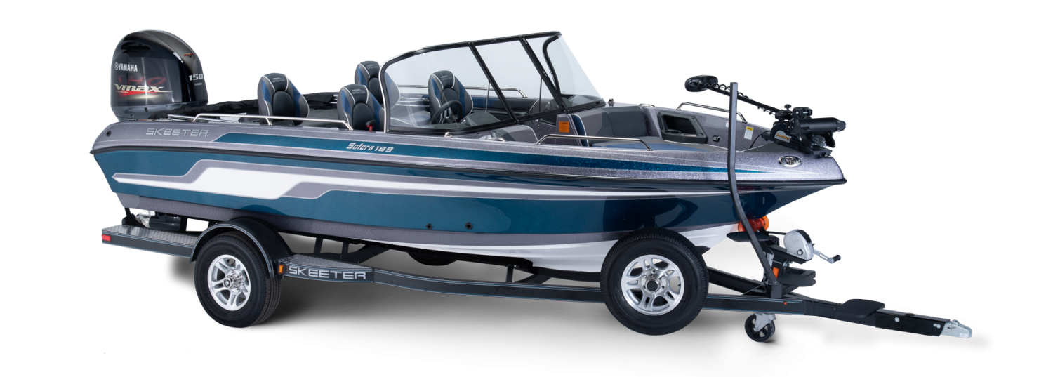 2019 Skeeter Solera 189 Deep V Boat For Sale profile image.