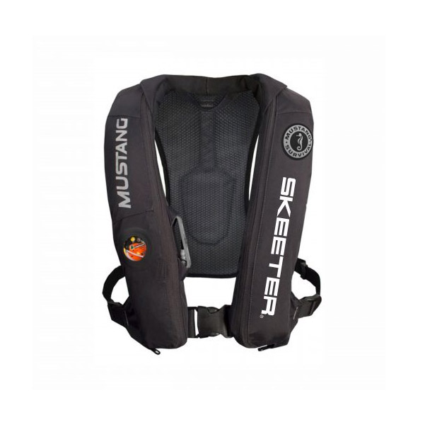 Black Skeeter Mustang Inflatable Life Vest