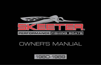 bass boat owners manuals skeeter boats rh skeeterboats com Champion Boat Wiring Diagram Boat Ignition Switch Wiring Diagram