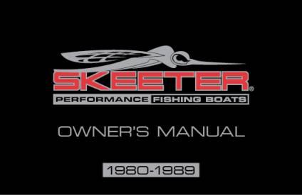 bass boat owners manuals skeeter boats rh skeeterboats com 1994 Skeeter SS90 Wiring Skeeter Trailer Wiring