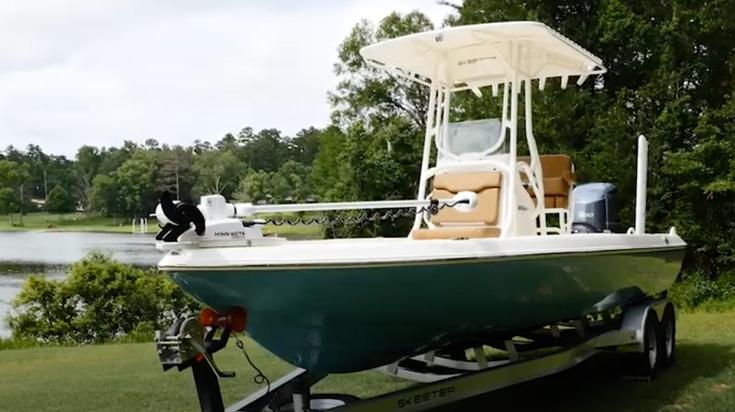 Skeeter SX240 Bay Boat Walkthrough