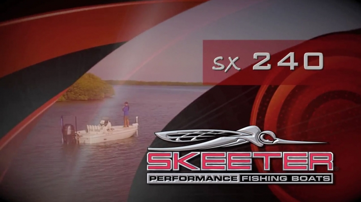Skeeter SX240 Bay Boat Walkthrough